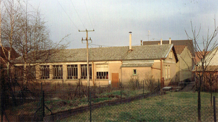 The first mechanical workshop in 1958