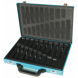Rolled forged Jobber drill metal case with 170 pieces